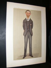 Vanity Fair Print 1892 Kenneth Howard, Spy Cartoon
